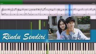 Download lagu Iqbaal Dhiafakhri Rindu Sendiri OST Dilan MP3