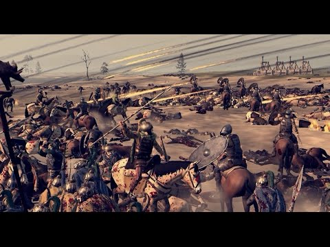 EPIC BLOODY BATTLE 12,000 MEN TOTAL WAR - ATTILA |