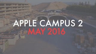 Apple Campus 2: May 2016 Construction Update
