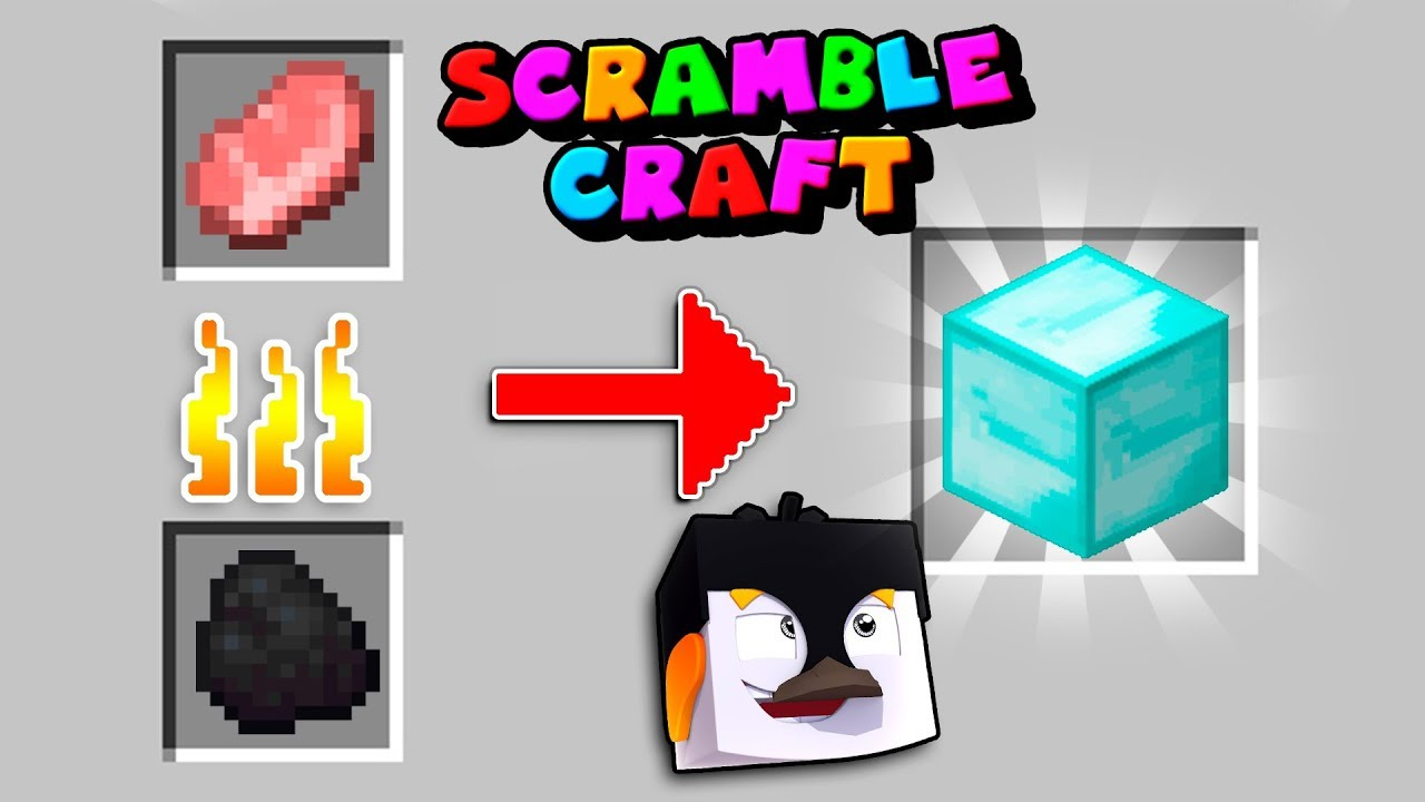 Minecraft - RANDOM FURNACE RECIPES! (Scramble Craft) - YouTube