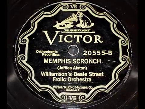 Memphis Scronch - Williamson's Beale Street Frolic Orch (1927)