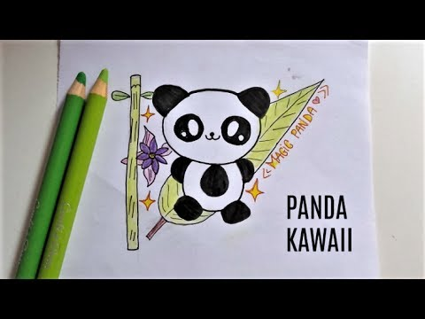 Dessin Kawaii Panda Youtube