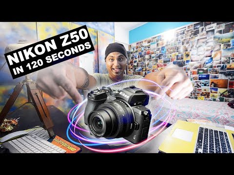 Nikon Z50 - Features + Initial Review (QUICK VIDEO)