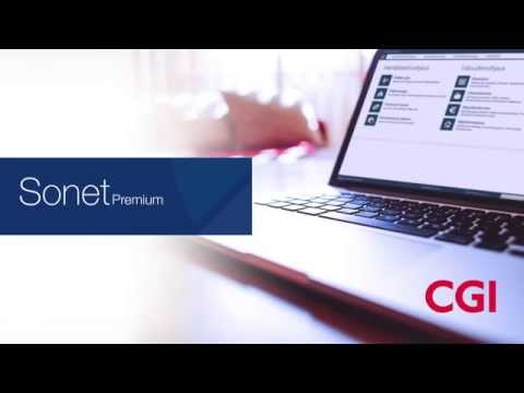 CGI:n Sonet Premium -kokonaisratkaisu