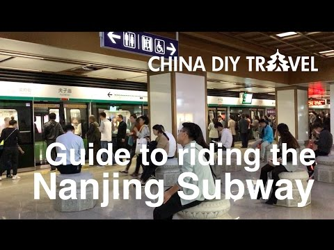 How to ride the Nanjing subway