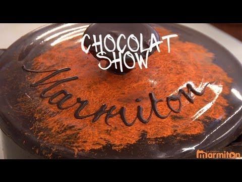 Chocolat Show : marmite en chocolat