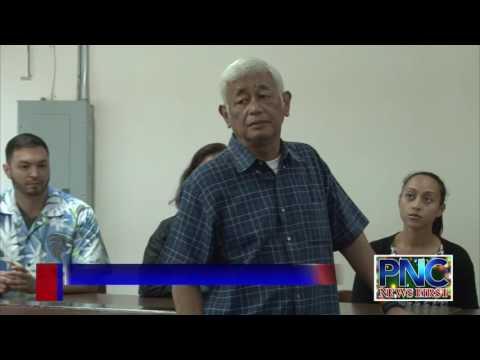 The new leadership of the 34th Guam Legislature
