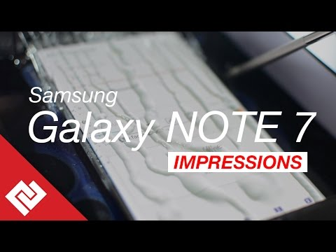 Samsung Galaxy Note 7 Initial Impressions: Specs, Features & Price in India