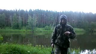 рибалка на р. Вілія, Островецкий р-н, Білорусь