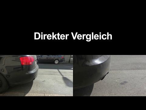 Dieselpartikelfilter Regeneration Audi A4 / DPF REINIGEN / DPF OFF