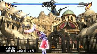 SOULCALIBUR V Official Guide HILDE COMBOS, Video 10_17
