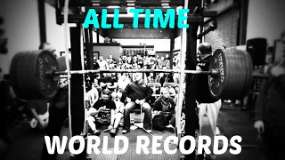 ALL TIME WORLD RECORDS 2017 (Powerlifting, Olympic Weightlifting, Strongman)