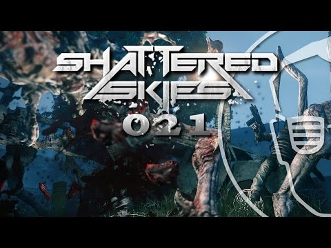 SHATTERED SKIES | Gameplay German | #021 Stress am Heliport | Let's Play deutsch