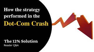 How would The 12% Solution have performed during the Dot-Com Crash?