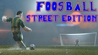 Foosball - Street Edition Gameplay & Intro PC HD