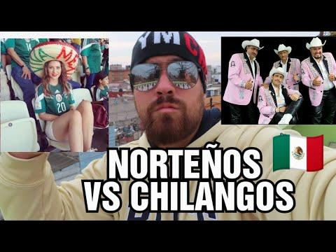 Norteños VS CHILANGOS en MEXICO SE ODIAN TANTO