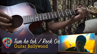 """#Learn2Play ★★★ """"Tum Ho Toh"""" (Rock On) Chords - Guitar Bollywood lesson"""