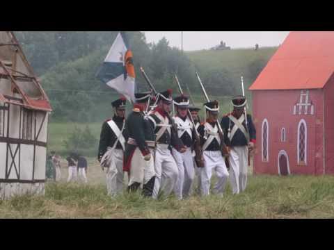 Битва под Фридландом 1807г. Часть 2,  (истор. реконструкция).