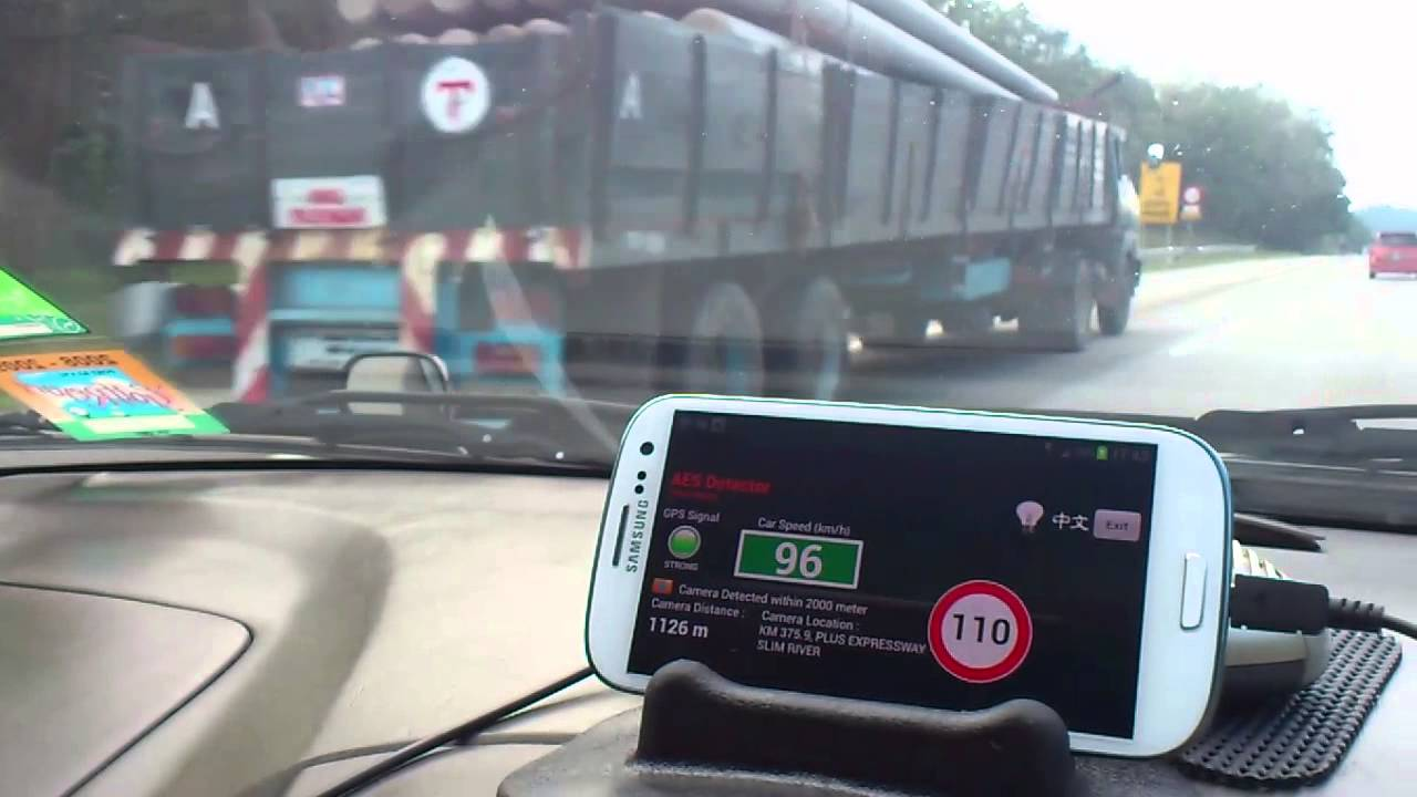Radarbot free: speed camera detector & speedometer for android.