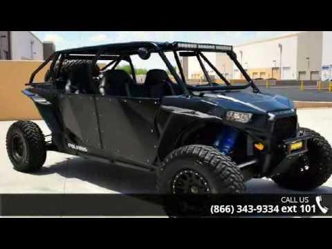 Razor 4 Seater >> 2015 Polaris RZR XP 4 1000 EPS Custom Matte Black - Ride... - YouTube