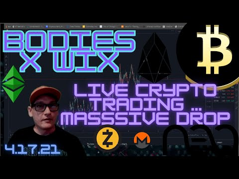 MASSIVE DROP ACROSS THE CRYPTO MARKET. HOW TO PROFIT? LET'S GO!! LIVE #BITCOIN TRADING