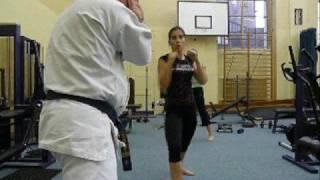 Oyama IKF - trening Koszalińskiego Klubu Oyama Karate 10.2008