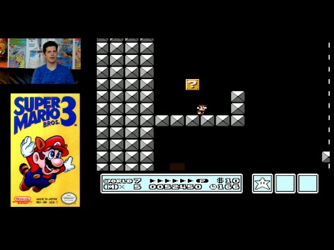 Mike Matei attempts the Super Mario Bros 3. No Touch Challenge!