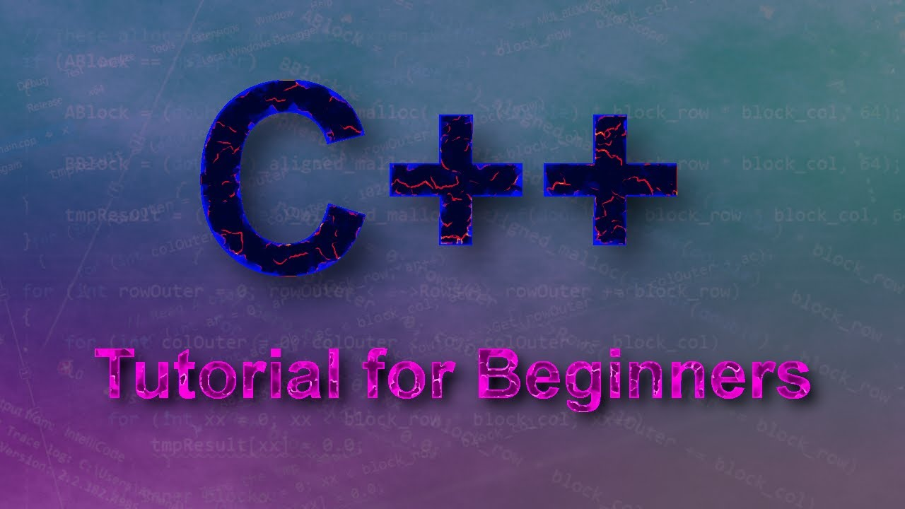 C++ Tutorial 11: Game Programming Basics - YouTube