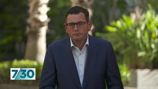 Daniel Andrews discusses the Melbourne COVID-19 outbreak | 7.30