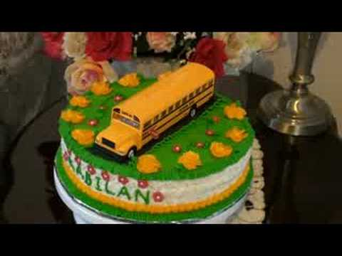 Bus Birthday Cake Ideas