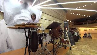 Oded Geizhals Performs Rebonds B by Iannis Xenakis