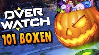 101 Halloween Lootboxen! | OVERWATCH