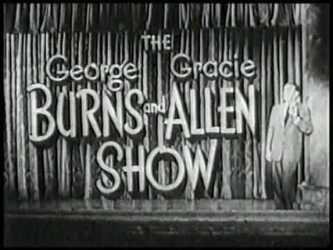 CBS-Burns and Allen 1954