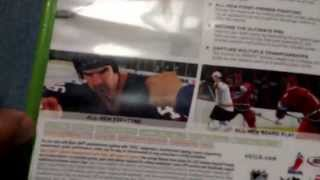 NHL 10 Unboxing for the Xbox 360