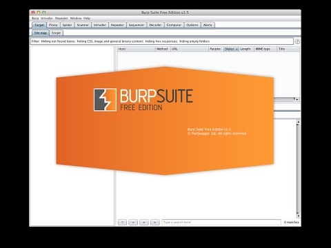 Burp suite basics each of the tabs