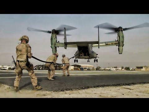 U.S. Marines Crises Response Fast Rope Team