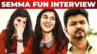 """I Want to Kill Thalapathy Vijay"" – Actress Sanjana Sarathy Reveals For the First Time"
