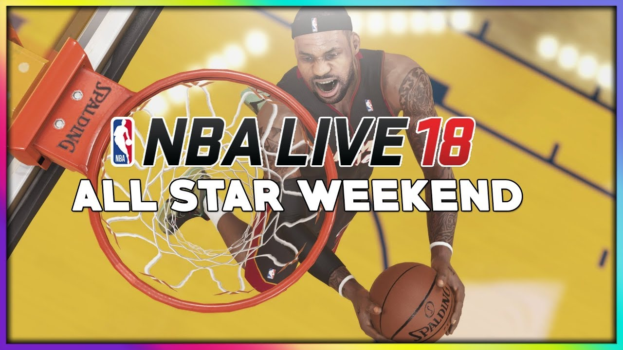 Nba Live 18 All Star Weekend Patch Could Bring In Dunk Contest 3pt Contest More