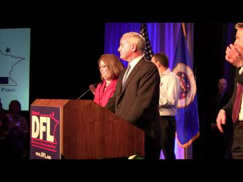 Election Night Party w/ Mark Dayton - Minnesota Governor Race Delayed for Recount 11-2-2010