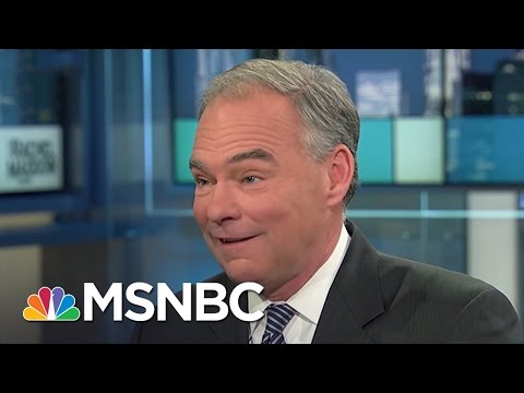 Senator Tim Kaine On The Strong Women In His Life | Rachel Maddow | MSNBC
