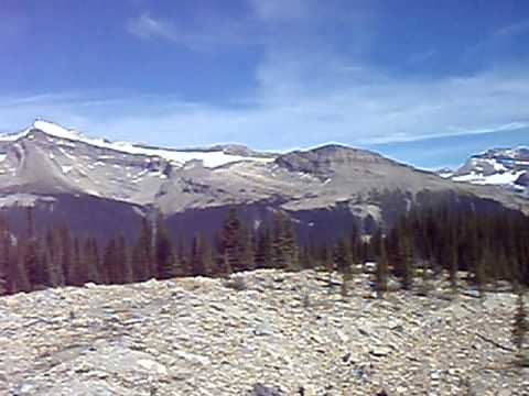 360 view from Iceline Trail