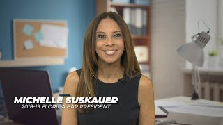 June 2019 Video Message from Florida Bar President Michelle Suskauer