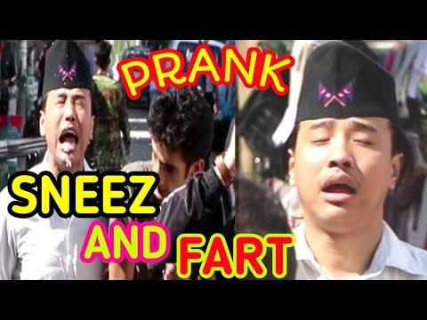 SNEEZ AND FART IN PUBLIC    PRANK VIDEO    ALISH RAI   