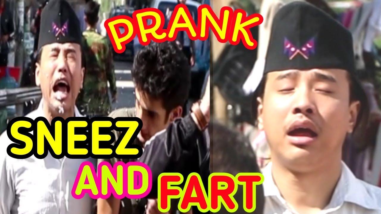 SNEEZ AND FART IN PUBLIC || PRANK VIDEO || ALISH RAI ||