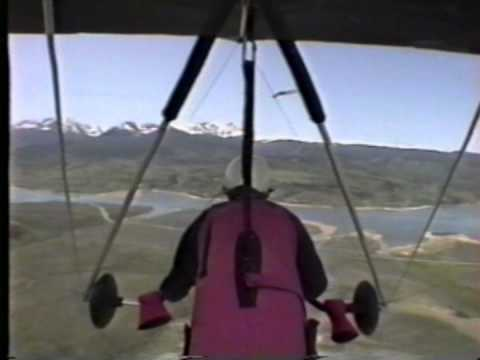 Hang Glider Sled Ride Williams Peak Colorado