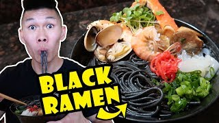 BLACK RAMEN NOODLES + SEAFOOD RECIPE UPGRADE || Life After College: Ep. 552 thumbnail