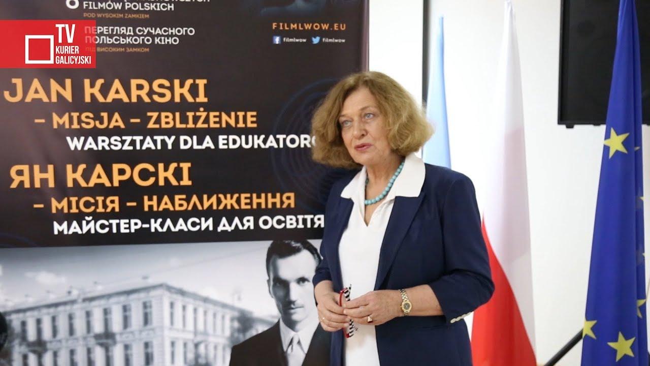 Stanisławowskie warsztaty poświęcone Janowi Karskiemu
