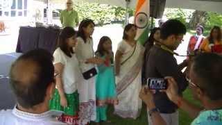 Indian National Anthem Jana Gana Mana in Cleveland