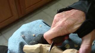 Whittling The Animal Shelf Sitters  Part 8