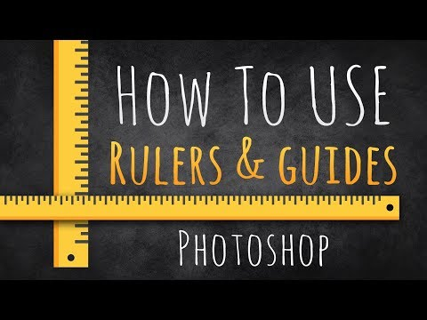 How To Use Rulers & Guides  |  Photoshop Beginners Tutorial